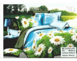 Lenjerie de pat 2 persoane - imprimeu floral