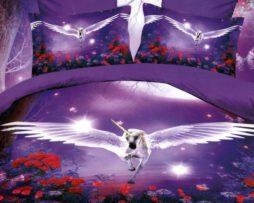 Lenjerie de pat cu Unicorn