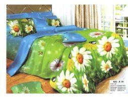 Lenjerie de pat cu flori mari