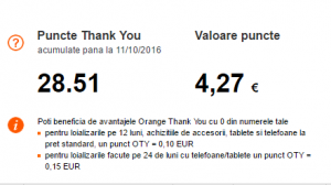 Orange Thank You